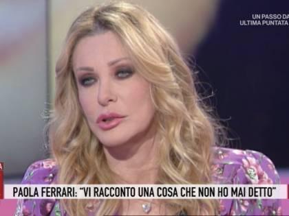 """Il doloroso segreto di Paola Ferrari: """"Non ho mai conosciuto mio fratello"""""""