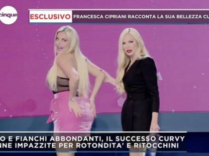 """Francesca Cipriani, nuovo intervento al lato b: """"Mi sono rimpolpata"""""""