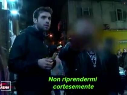 Tentano di intervistare il neomelodico Tony Colombo: aggrediti giornalista e cameramen di La7