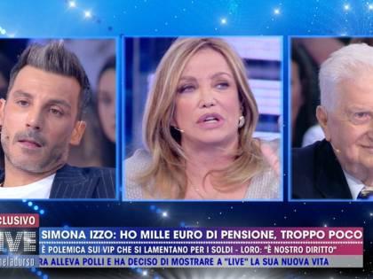 """Live, Daniele Interrante attacca Simona Izzo: """"Scandaloso lamentarsi della pensione"""""""