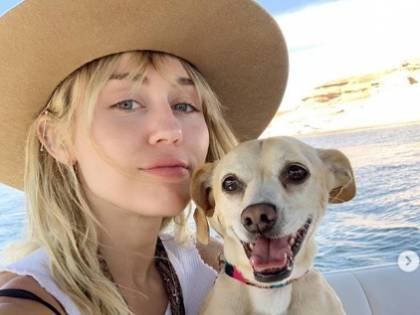 Miley Cyrus e il compleanno con il nuovo fidanzato