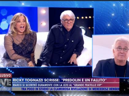 Marco Predolin attacca Ricky Tognazzi e volano parole grosse