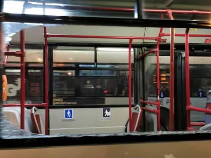 Vandali lanciano uova contro autobus Ataf