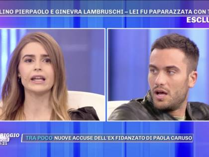 Pierpaolo Petrelli lascia Ginevra Lambruschi in diretta tv
