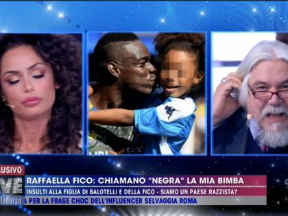 """Meluzzi contro Raffaella Fico: """"Balotelli ha fatto lavittima pur guadagnando milioni di euro"""""""
