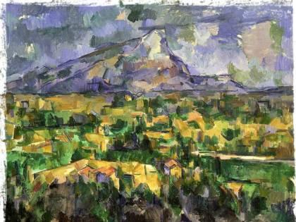 Tutti i frammenti colorati della vita di Paul Cézanne