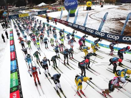 Marcialonga, 7.500 in gara con gli sci da fondo fra sport e grandi eventi