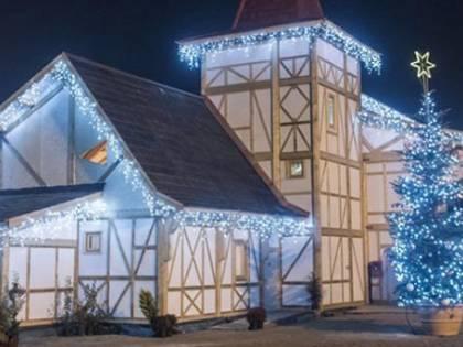 Elfi e slitte  all'Ippodromo È arrivato il Sogno di Natale