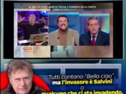 """Red Ronnie contro le sardine per Bella Ciao: """"Oggi chi è l'invasore, Salvini o l'Europa?'"""""""
