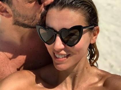 Elena Barolo in bikini a Miami