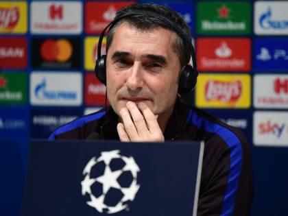 Il Barcellona esonera Valverde: Quique Setién è il nuovo allenatore