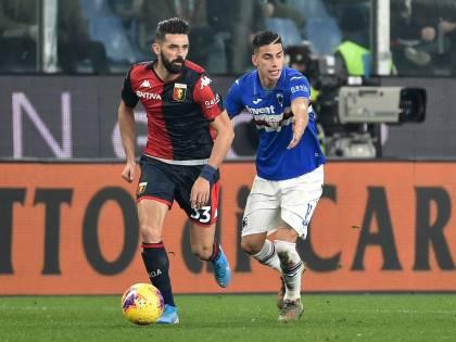 La Sampdoria stende 1-0 il Genoa nel finale: ai blucerchiati il derby della Lanterna