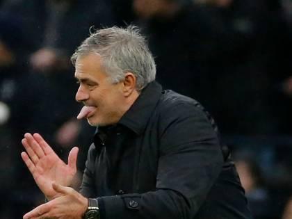 """Mourinho tira in ballo Calciopoli: """"In Italia qualcuno partì da -5, io al Tottenham da -12"""""""