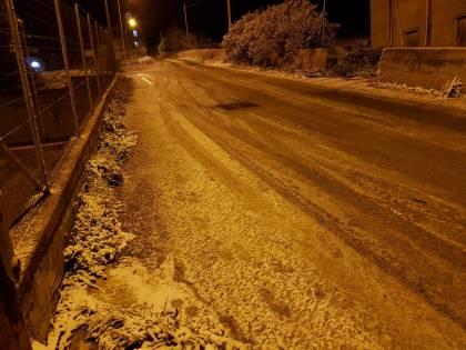Temperature in picchiata e ad Agrigento arriva la neve