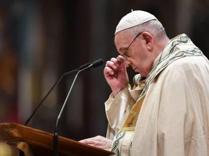 Papa Francesco al funerale di un'amica in forma privata