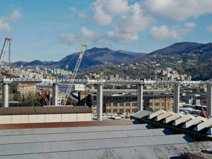 Genova, per il nuovo ponte stop dei treni a marzo