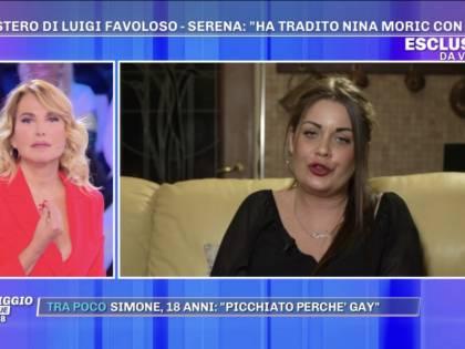 """Scomparsa Favoloso, l'sms dell'amante a Nina Moric: """"Sei cornuta"""""""