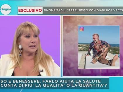 """Simona Tagli: """"Per Gianluca Vacchi interromperei la mia castità"""""""
