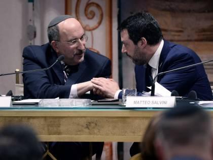 """Salvini: """"L'antisemitismo in Italia? È colpa dei migranti islamici"""""""