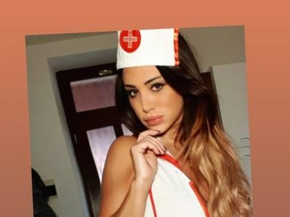 Marika Fruscio infermiera sexy sui social