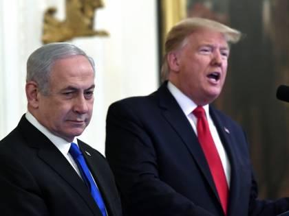 Medio Oriente, il piano Trump:  due Stati, Gerusalemme capitale
