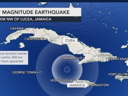 Terremoto di 7.7 in Giamaica, paura anche in Albania