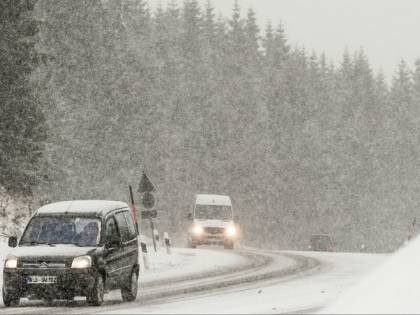Arriva la bufera artica: dai 27 gradi alla neve in 24 ore