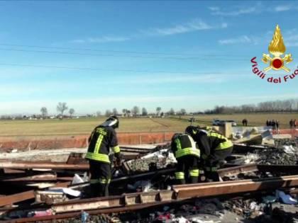 """Treno deragliato, operai: """"Lo scambio era nella posizione giusta"""""""