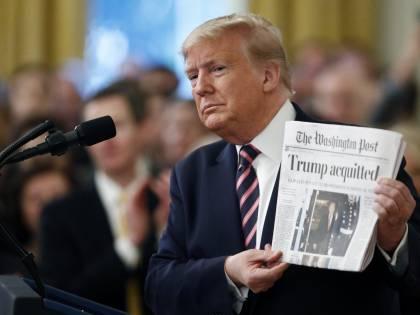 """Impeachment, Trump scatenato: """"Qualcuno si deve vergognare"""""""