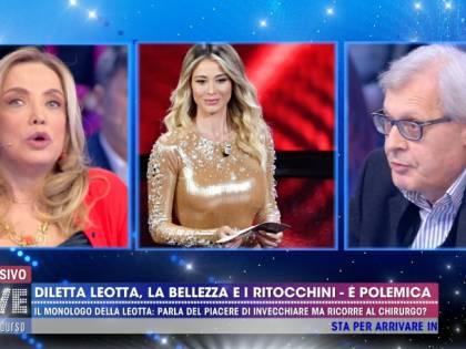 """Simona Izzo asfalta Diletta Leotta: """"Una che dice 'sono bona' è cretina"""""""