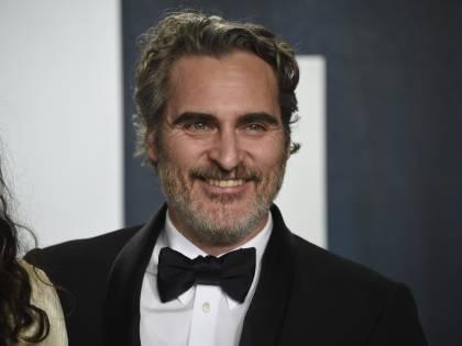 Joaquin Phoenix, le immagini degli Oscar