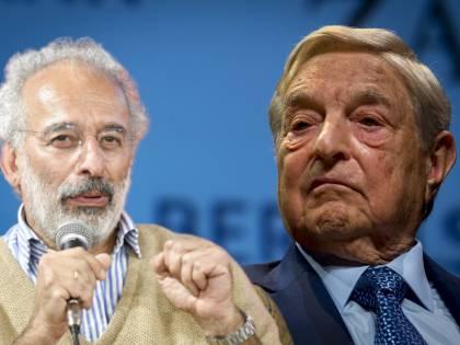 """Lerner fa il bodyguard di Soros: """"Vi spiego perché lo ammiro..."""""""