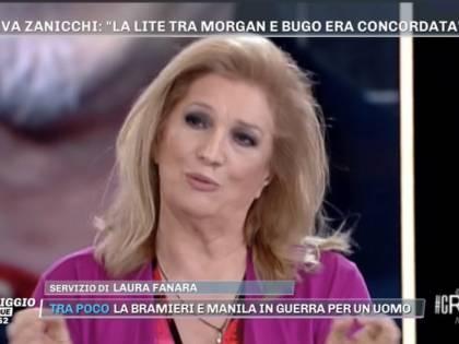 """Sanremo, Iva Zanicchi dice la sua: """"Morgan e Bugo? Tutto preparato"""""""