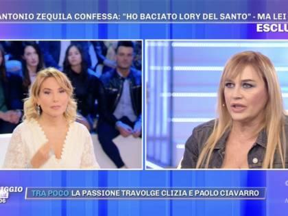 """Gf Vip, Lory Del Santo racconta il """"flirt"""" con Zequila"""