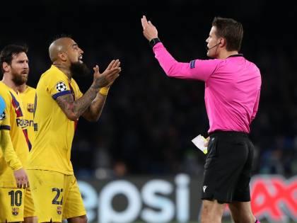 "Vidal provoca i tifosi del Napoli: ""Forza Juventus"""