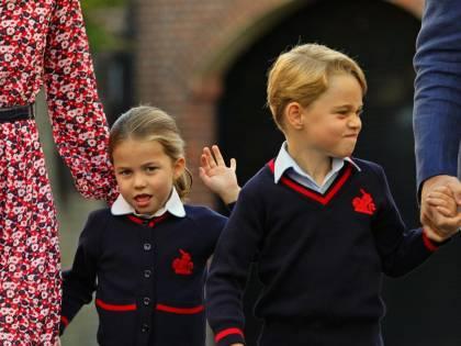 Così Kate Middleton ha spiegato a George che un giorno sarà re