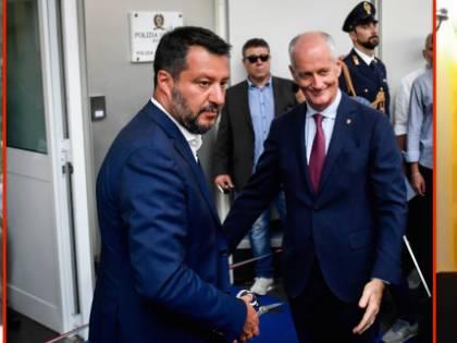 Ora lo critica con frasi choc. Ma prima Gabrielli elogiava Salvini