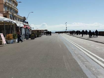 Coronavirus, turismo e ristorazione in crisi: soffre anche il lungomare di Napoli
