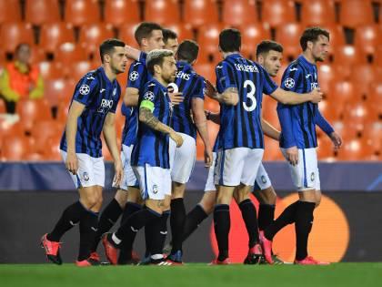 L'Atalanta vince 4-3 a Valencia e vola ai quarti di finale di Champions