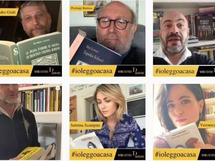 #IoLeggoaCasa, l'iniziativa letteraria contro il coronavirus