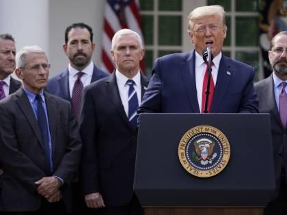 Coronavirus, Trump proclama lo stato d'emergenza