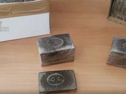 Caserta, sequestrati 48 chili di droga provenienti della penisola iberica