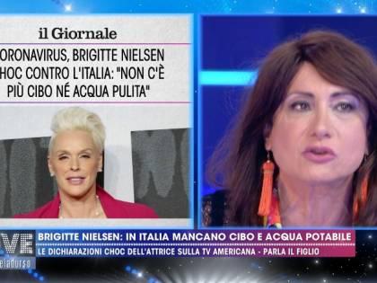 """L'ira di Vladimir Luxuria contro Brigitte Nielsen: """"Non abbiamo bisogno di chi ci infanga"""""""