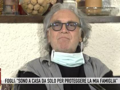 Riccardo Fogli in auto-isolamento per proteggere la famiglia