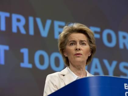 """Ursula von der Leyen annuncia: """"Massima flessibilità per l'Italia"""""""