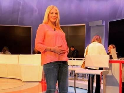 Eleonora Daniele è mamma: è nata Carlotta