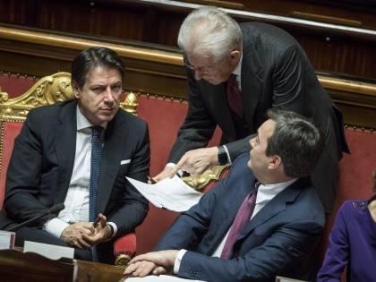 Per salvare i giallorossi Conte si aggrappa anche ai senatori a vita