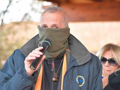 """Capitano Ultimo a gamba tesa: """"Il vilipendio lo fa il coronavirus, non il sindaco De Luca"""""""