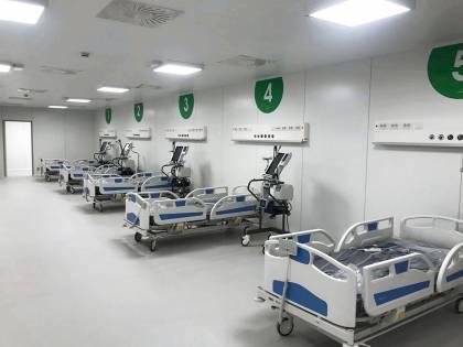 La rivincita dell'Ospedale in Fiera: lascia l'ultimo paziente