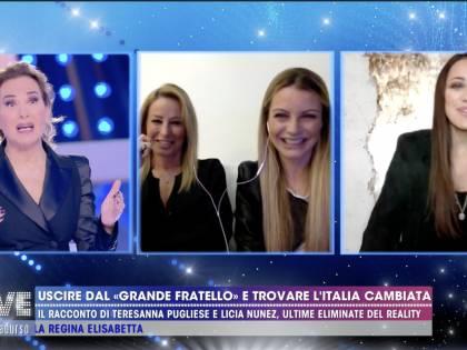 """Il racconto di Teresanna Pugliese e Licia Nunez uscite dal GFVip: """"Sotto choc"""""""